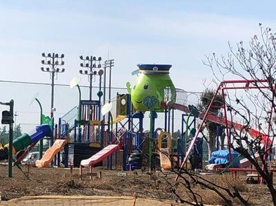 スポランド】下野市立大松山運動公園陸上競技場(下野市大松山)